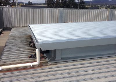 SPR Commercial raised roof