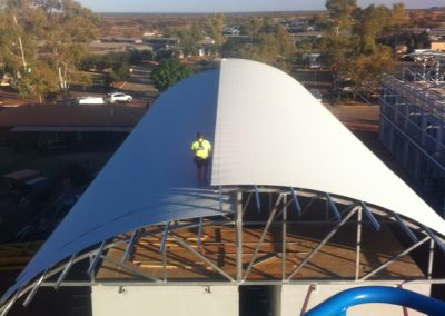 SPR Curved roof