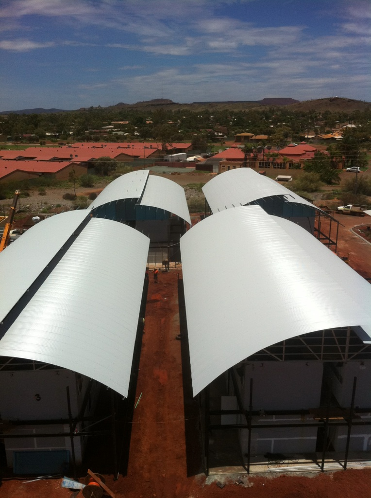 SPR Curved roof complete