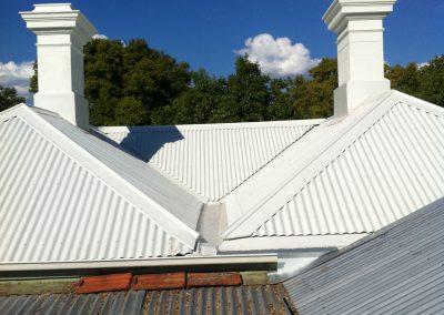 SPR Toorak home roof